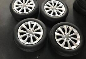 AUDI ALLOYS AND TYRES* BARGAIN**