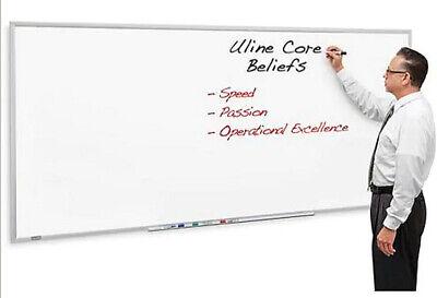 96w X 48h Melamine Dry Erase Whiteboard - Extra Large