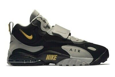 Nike Air Max Speed Turf Mens Training Shoe Black Yellow Grey AV7895-001 Size 9.5