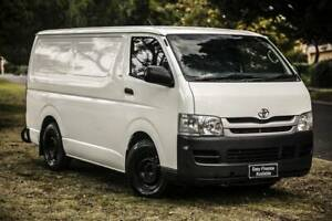 2008 TOYOTA HIACE LWB KDH201R DIESEL TURBO F/INJ 3.0L 5 SP MANNUAL Welshpool Canning Area Preview