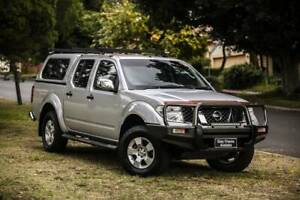 2007 NISSAN NAVARA ST-X(4X4) 2.5 5SPAUTO CANOPY Welshpool Canning Area Preview