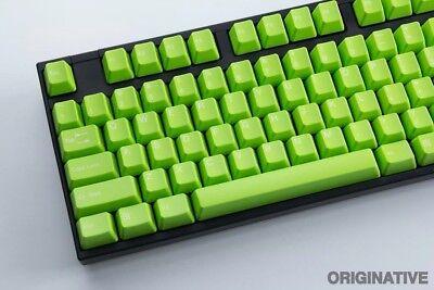 Tai Hao ABS Double-shot Keycaps - Apple Green, Cherry MX 111 keys mechanical