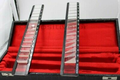 Prism Bar Set Vertical Horizontal For Ophthalmology Optometry Equipment
