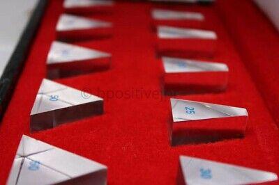 Prism Set 11 Prisms Loose Bars Ophthalmology Optometry Equipment Bar