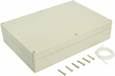 Waterproof Plastic Junction Box Universal Electric Project Enclosure Pale Gray
