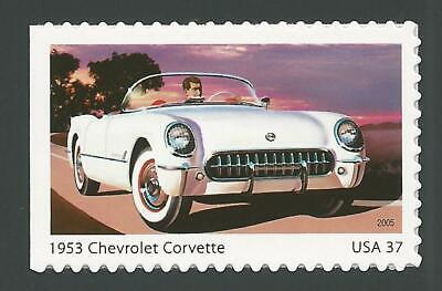 Classic Car Stamps Mint (1953 Chevy Chevrolet Corvette Classic Sporty Car Automobile Stamp MINT)