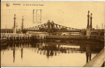 """OSTENDE """" Le Pont de Smet de Naeyer """""""