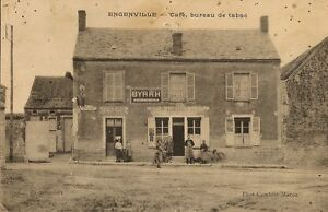 Carte postale bureau de tabac et cafe engenville loiret for Bureau de tabac