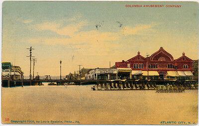 ATLANTIC CITY NJ – Columbia Amusement Company - 1912 - Party City Columbia
