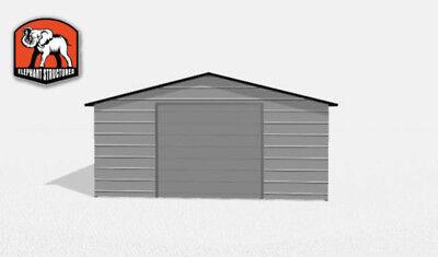 Durable Double Wide Metal Building
