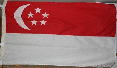 Fahne Singapur singapurische Flagge Nationalflagge 80 x 140 cm