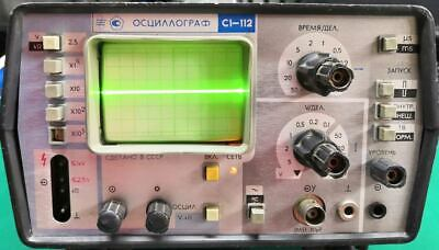 Oscilloscope Vintage Ussr S1-112 - 10mhz 220v Tube - 8lo6i