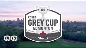 GREY CUP TICKETS FROM JUST $117 CAD FOR LOWERS!