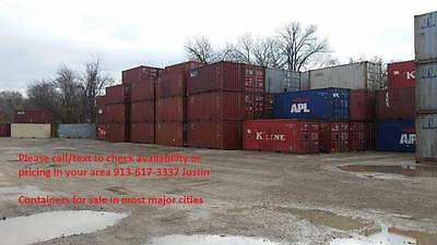 40ft High Cube Shipping Container - Fort Worth Tx