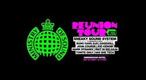 Ministry of Sound Reunion 05-08: Sydney Kellyville The Hills District Preview