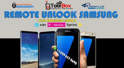 INSTANT! Samsung Galaxy Note 8 (N950U) ATT AT&T XFINITY Unlock Remote Service