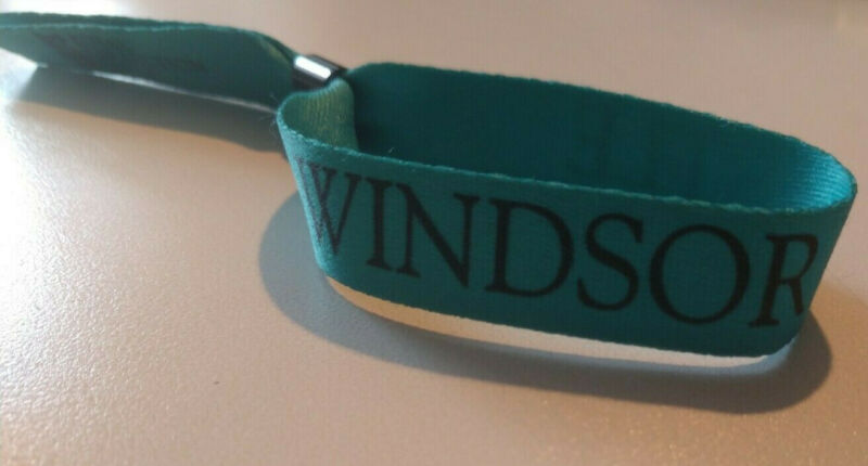 Windsor Castle Royal Trust Collection wristband from tour