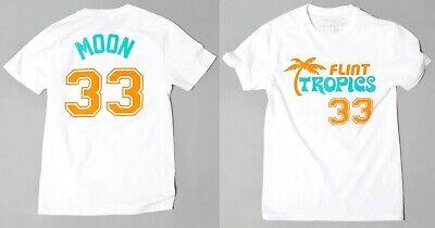Semi-Pro Jackie Moon Flint Tropics Movie Authentic Jersey T-Shirt Will Ferrell