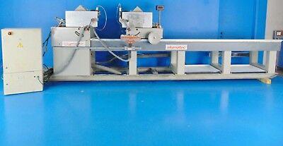 Aluminum Cut Off Saw (Elumatec DG102 Dual Head Miter Cut off saw 230/460v 3PH 118in cut aluminum )