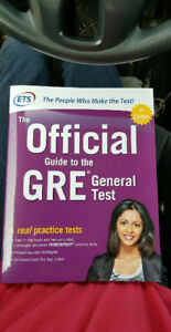 The Official Guide to the GRE General Test 2018 (Gently Used)