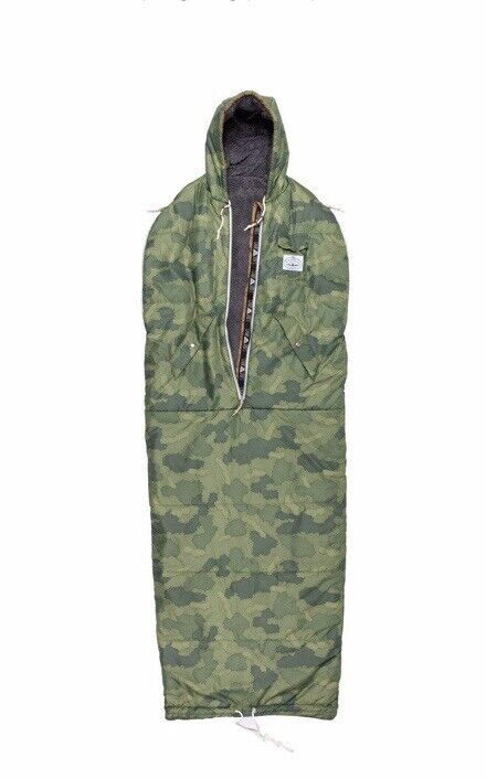 Poler Brand Napsack Shaggy Sherpa part lined wearable multifunctional camo SMALL