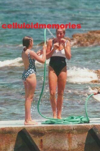 Original Press Photo Princess Diana Lady Di Spencer 1997 St Tropez Vacation # 2