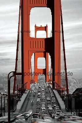 Golden Gate Bridge Großes Poster 92x61 cm