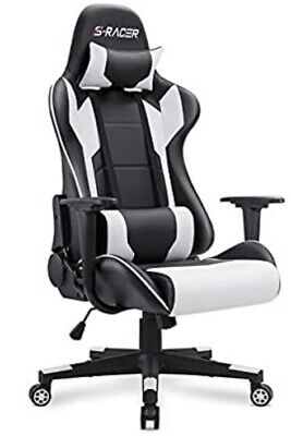 Homall Gaming Chair High Back Computer Chair PU Leather Ergonomic Adjustable
