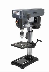 HOC - 10 INCH 12 SPEED BENCH DRILL PRESS + FREE SHIPPING + 90 DAY WARRANTY