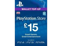 SONY PS5 PS4 PS PLUS PSN WALLET TOP UPS FOR SALE