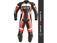 RST Tractech EVO 1003 FLO RED Leather Suit