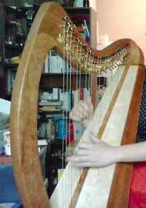 Therapy Harp For Sale, 25 strings fully levered Gatineau Ottawa / Gatineau Area image 5