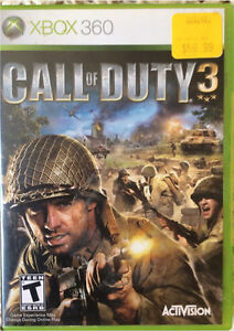 XBOX 360 Call of Duty 3