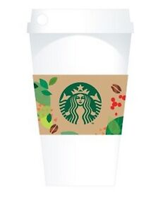 2014 NEW!!! CUP & SLEEVE CARD STARBUCKS KOREA  + GIFT WRAP!!
