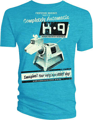 Dr Doctor Who - K9 K-9 Your Own Robot Dog Costume Male Style Tee T-Shirt Tshirt