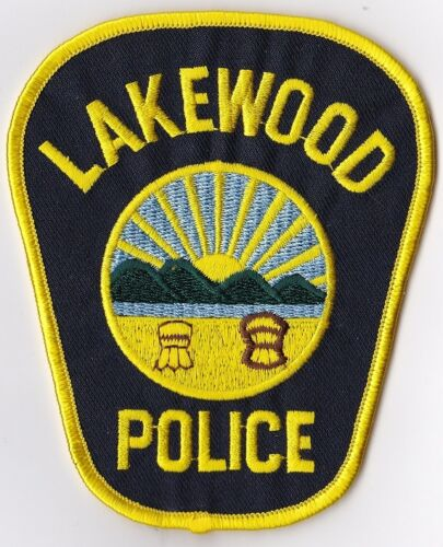 Lakewood Police Patch Ohio OH