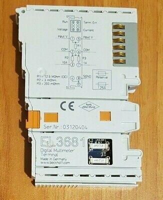 Beckhoff El3681 Digital Multimeter Terminal