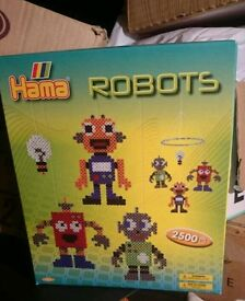Brand new hama beads robots mobile boys toy