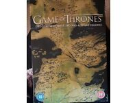 Game of thrones Seasons 1, 2 and 3