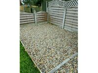 40mm/20mm/10mm drive gravel garden patio decorative stone pebbles shingle recycled washed