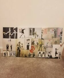 Banksy multi print
