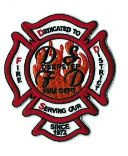 *RARE* Deepstep (Washington County) GA Georgia Fire Dept. District patch - NEW!