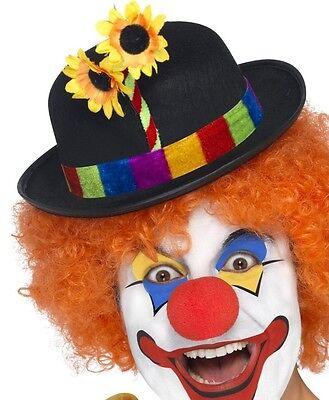 Clown Kostüm Melone mit Blume Neu von Smiffys