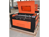 LESS USED LASER CUTTING MACHINE 100 WATTS -GOOD WORKING CONDITION- SHOP CLOSING DOWN