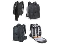 "Lowepro Compu Trekker Plus AW SLR Digital Camera Bag laptop 17"" Backpack & All Weather Cover"