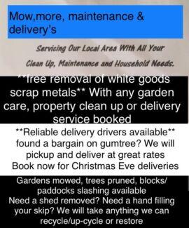 Cheap lawn mowing, property maintenance repairs