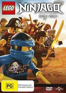 LEGO-Ninjago-Masters-of-Spinjitzu-Series-5-Volume-1-NEW-DVD