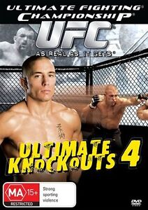 UFC Ultimate Knockouts 4 (DVD, 2009) BRAND NEW SEALED Region 4