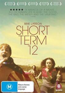 Short Term 12 (DVD, 2014) Brand new sealed free post!!
