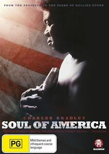 Charles Bradley - Soul Of America (DVD, 2013) New  Region 4